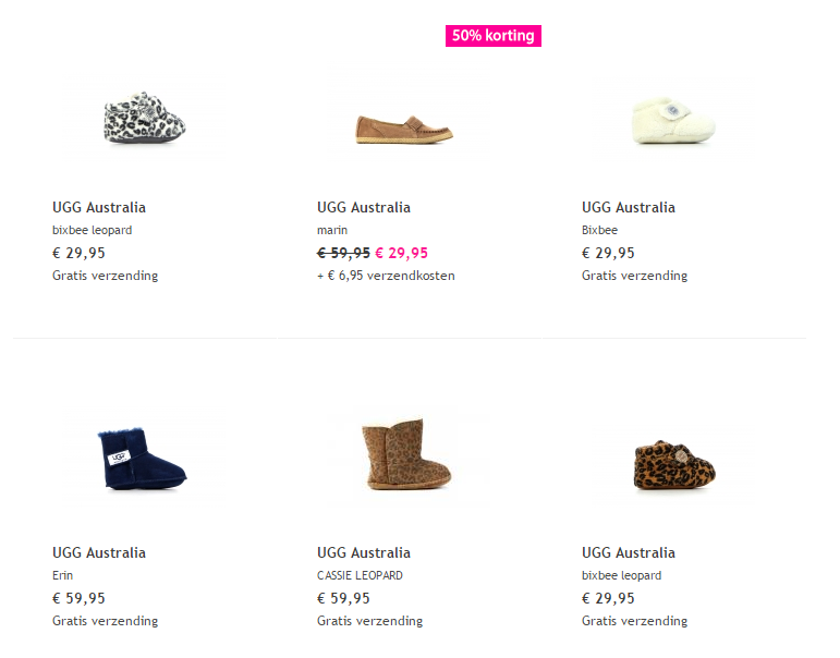 4d3999a59cfb7a Baby Uggs, speciale mini Uggs in alle baby maten | KinderUggs.nl